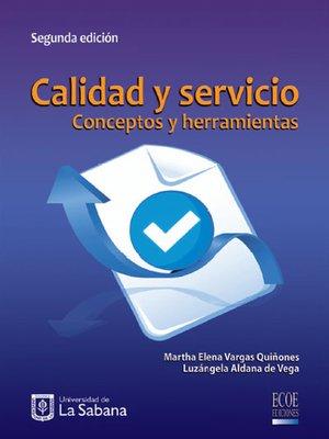 cover image of Calidad y servicio