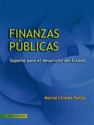 cover image of Finanzas públicas