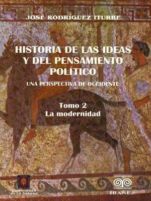cover image of Historia de las ideas y del pensamiento político