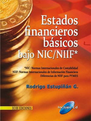 cover image of Estados financieros básicos bajo NIC/NIIF