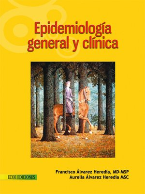 cover image of Epidemiología general y clínica
