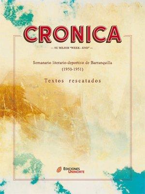 """cover image of Crónica su mejor """"week-end"""""""
