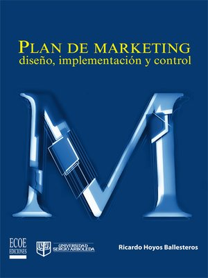 cover image of Plan de marketing: diseño, implementación y control