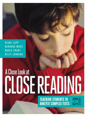 cover image of A Close Look at Close Reading