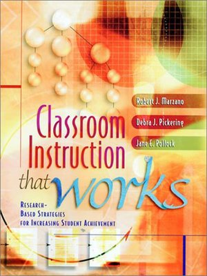 cover image of Classroom Instruction That Works