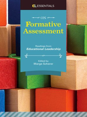 cover image of On Formative Assessment