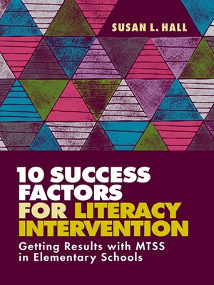 cover image of 10 Success Factors for Literacy Intervention