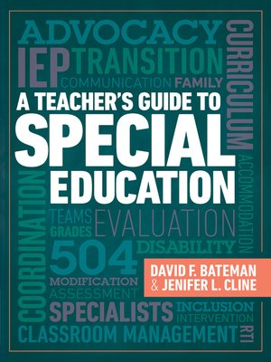 cover image of A Teacher's Guide to Special Education