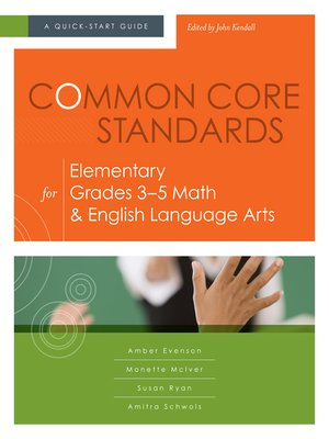 cover image of Common Core Standards for Elementary Grades 3–5 Math & English Language Arts