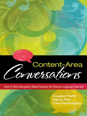 cover image of Content-Area Conversations