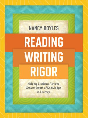 cover image of Reading, Writing, and Rigor