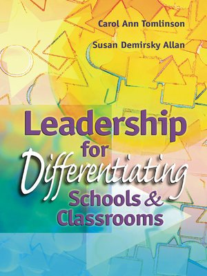 cover image of Leadership for Differentiating Schools and Classrooms