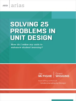 cover image of Solving 25 Problems in Unit Design