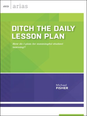 cover image of Ditch the Daily Lesson Plan