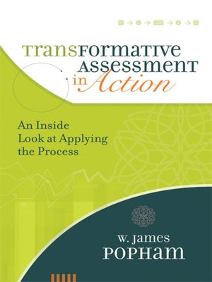 cover image of Transformative Assessment in Action