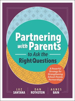 cover image of Partnering with Parents to Ask the Right Questions