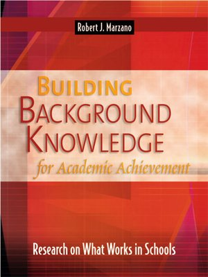 cover image of Building Background Knowledge for Academic Achievement