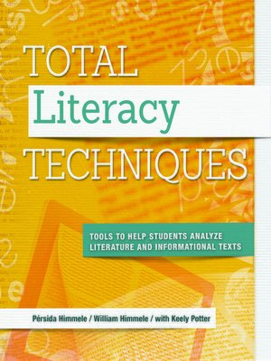 cover image of Total Literacy Techniques