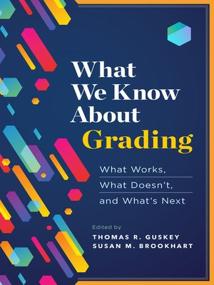 cover image of What We Know About Grading