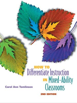 cover image of How to Differentiate Instruction in Mixed-Ability Classrooms