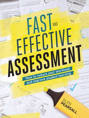 cover image of Fast and Effective Assessment