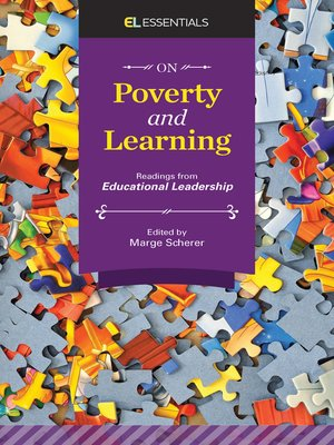 cover image of On Poverty and Learning