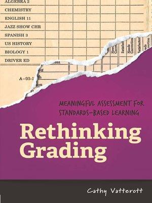 cover image of Rethinking Grading