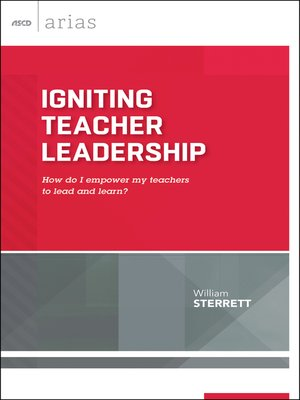 cover image of Igniting Teacher Leadership