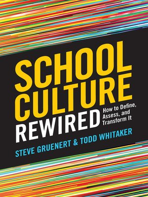 cover image of School Culture Rewired