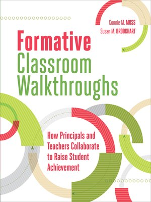 cover image of Formative Classroom Walkthroughs