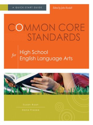 cover image of Common Core Standards for High School English Language Arts