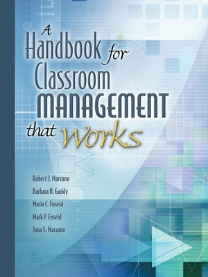 cover image of A Handbook for Classroom Management That Works