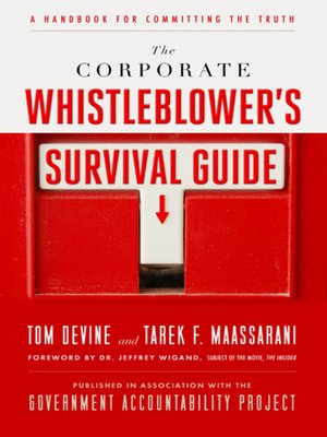 cover image of The Corporate Whistleblower's Survival Guide