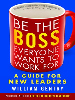 cover image of Be the Boss Everyone Wants to Work For