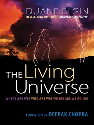 cover image of The Living Universe