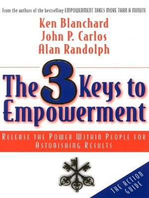 cover image of The 3 Keys to Empowerment