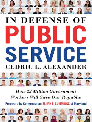 cover image of In Defense of Public Service