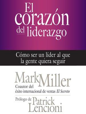 cover image of El corazón del liderazgo