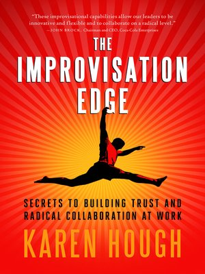 cover image of The Improvisation Edge
