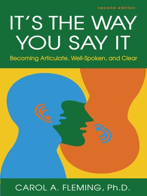 cover image of It's the Way You Say It
