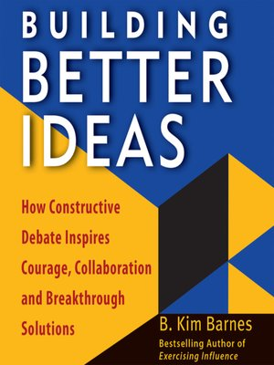 cover image of Building Better Ideas