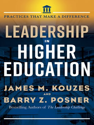 cover image of Leadership in Higher Education