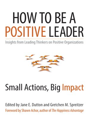 cover image of How to Be a Positive Leader