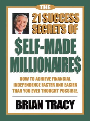 cover image of The 21 Success Secrets of Self-Made Millionaires