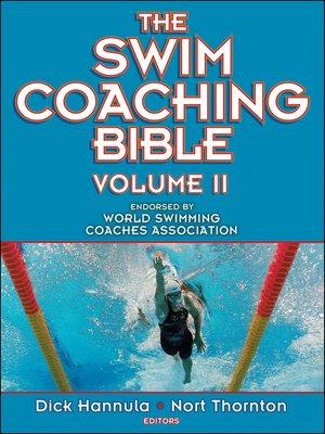 cover image of The Swim Coaching Bible Volume II