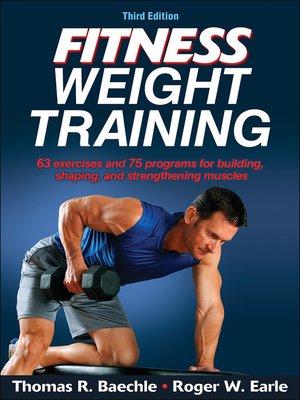 Human kineticspublisher overdrive rakuten overdrive ebooks cover image of fitness weight training fandeluxe Gallery