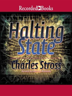 cover image of Halting State