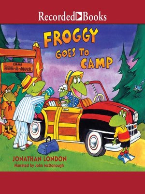 cover image of Froggy Goes to Camp