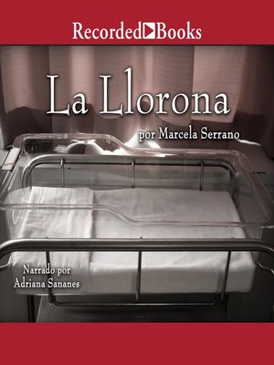 cover image of La llorona (The Weeping Woman--A Novel)