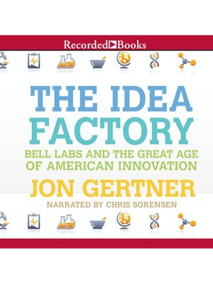 cover image of The Idea Factory